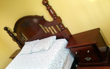 Premium Ashley Furniture Bed (Cal King Size) And 2 Dressers For Sale