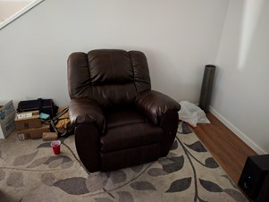 Sofa, Recliner, Chest, Chair And Crib