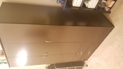 Solid Victor Villa Wooden Wardrobe For Sale   Almost Brand NEW! 4 Weeks  Ago; Jersey City ...