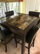 High Quality Used Dining Table And Chairs For Sale In Jamaica NY