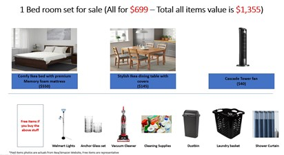 2 High Quality used Beds & Bedroom Furniture for sale in ...