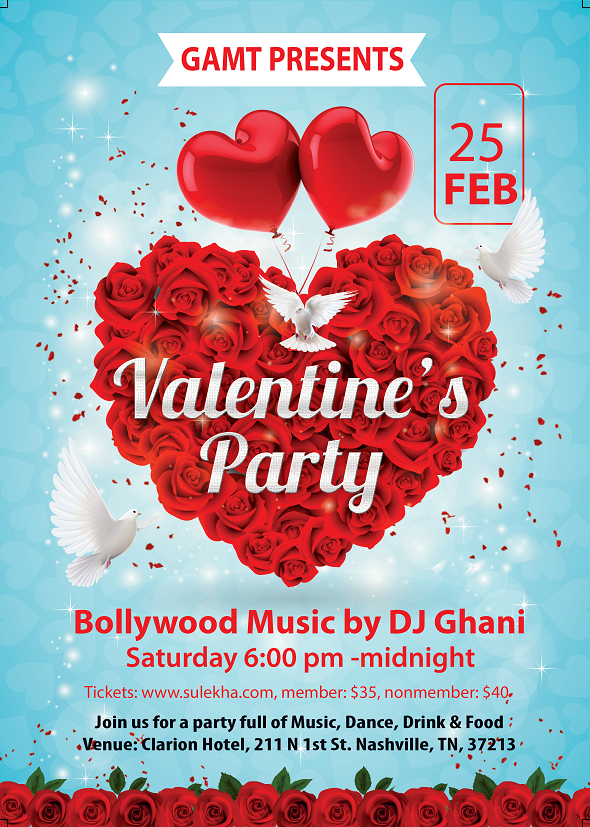 A Guide To Desi Valentineu0027s Day 2017 Events In The US