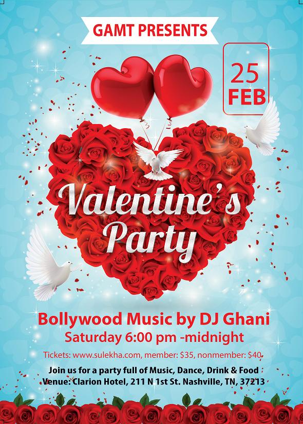 nashville valentine's day party 2017gamt in clarion hotel, Ideas