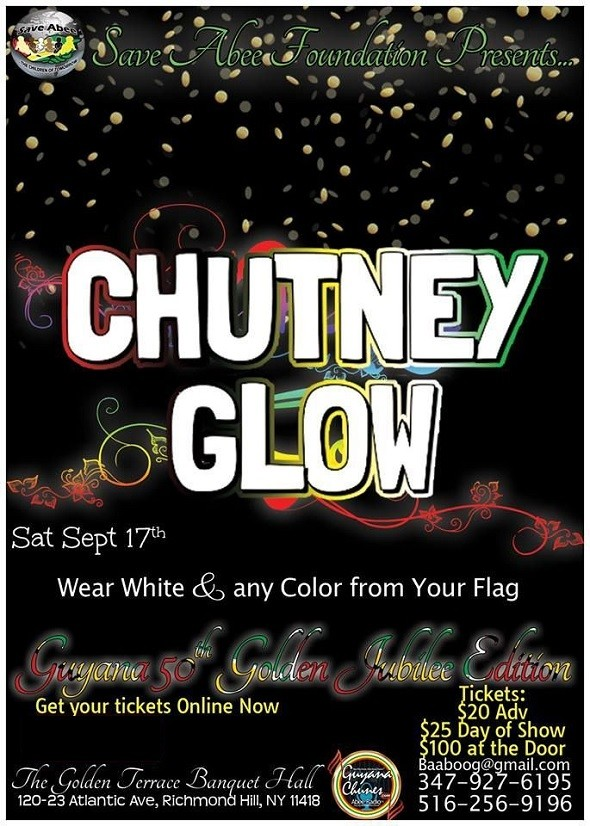 Chutney glow in new york in the golden terrace banquet for 14 terrace place hicksville ny