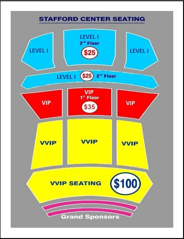 Stafford Civic Center Seating Chart Www