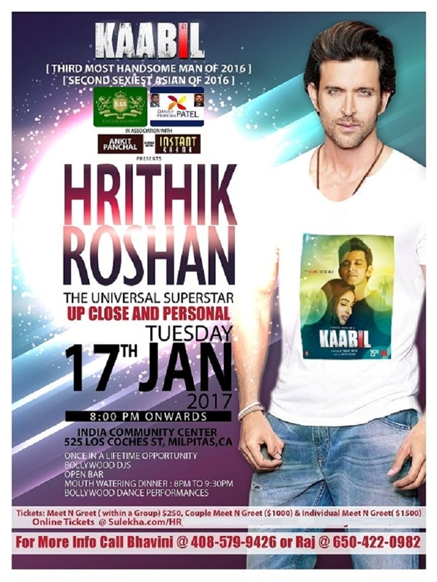 Hrithik roshan up close n personal in bay area at india community hrithik roshan up close n personal in bay area m4hsunfo