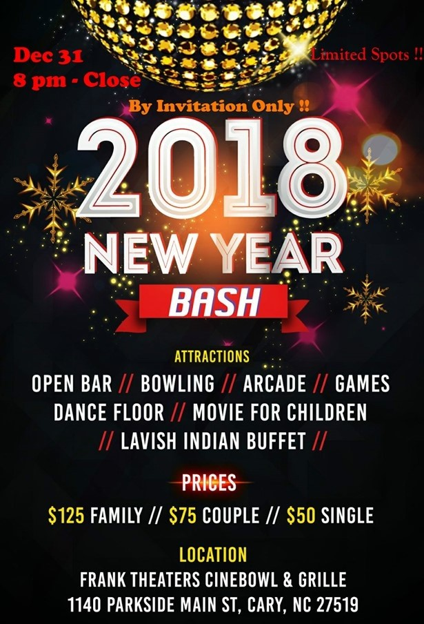 New Years Eve Charlotte Nc 2018