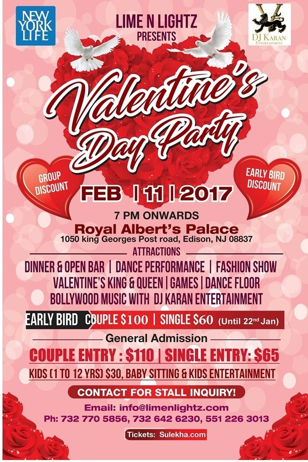 so celebrate valentines with your date instead with some celebrity and an overwhelming crowd - Valentine Events