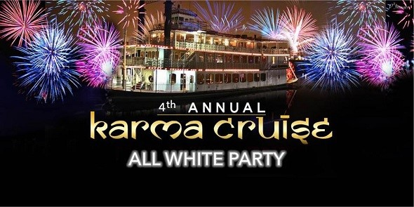 Karma Cruise All White Party 2017 At Grand Romance Riverboat Long Beach Ca Indian Event