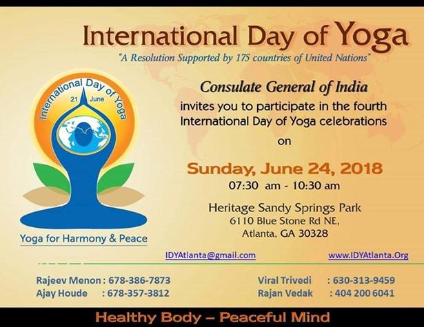 International Day of Yoga - 2018
