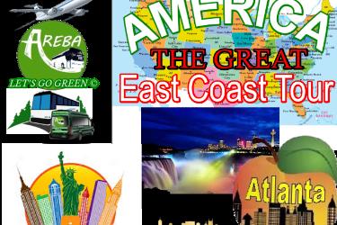 America the Great 5 Day 4 Nights, East Coast Weekly Tours in Atlanta, GA
