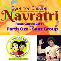Beautiful Art Of Living Navratri Raas Garba   2017 With Parth Oza