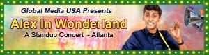 Alex in Wonderland Stand up comedy show Atlanta