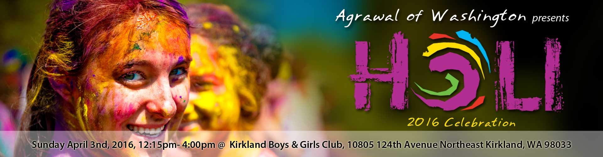 Agrawal of Washington 2016 Holi Celebration at Kirkland Boys and ...