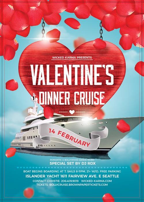 Bollywood Valentine\'s Day Dinner Cruise in Islander Yacht, Seattle ...