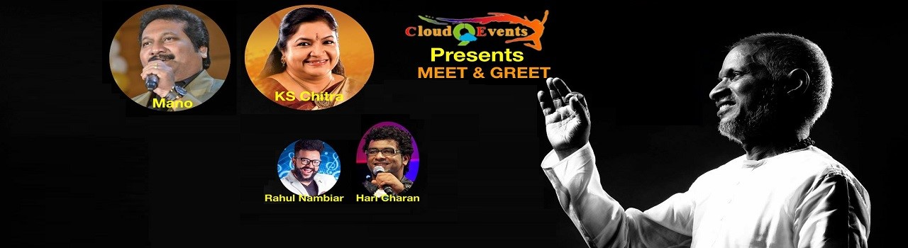 Meet and greet with ilayaraja and team at meadows club rolling meet and greet with ilayaraja and team m4hsunfo