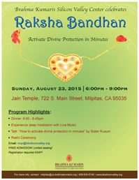brahma kumaris silicon valley center invites you to celebrate raksha bandhan_2016 03 01 09 07 33 566 brahma kumaris silicon valley center invites you to celebrate,Raksha Bandhan Invitation Messages