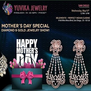 San diego mothers day special jewelry exhibition in for 8 elements perfect indian cuisine