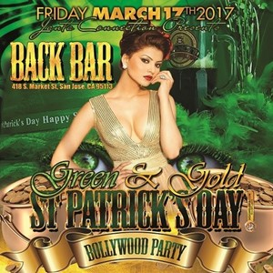 St patricks day bollywood party in back bar sofa san for Back bar sofa san jose