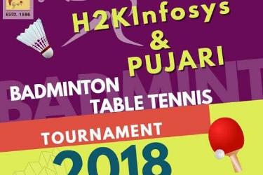 Badminton Table Tennis Tournament in Suwanee, GA