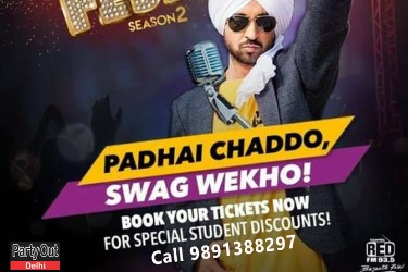 Image result for Diljit Dosanjh Live Swag Fest 2017, Gurgaon tx