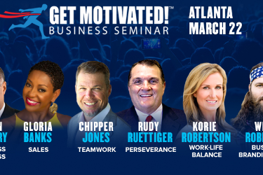 Kevin O'Leary, Willie Robertson, Korie Robertson LIVE Get Motivated! Atlanta in Atlanta, GA