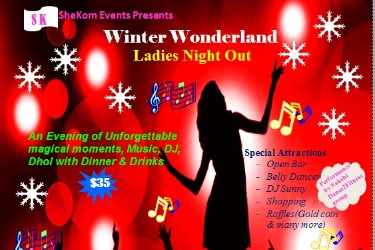 Ladies Night Out Winter Wonderland
