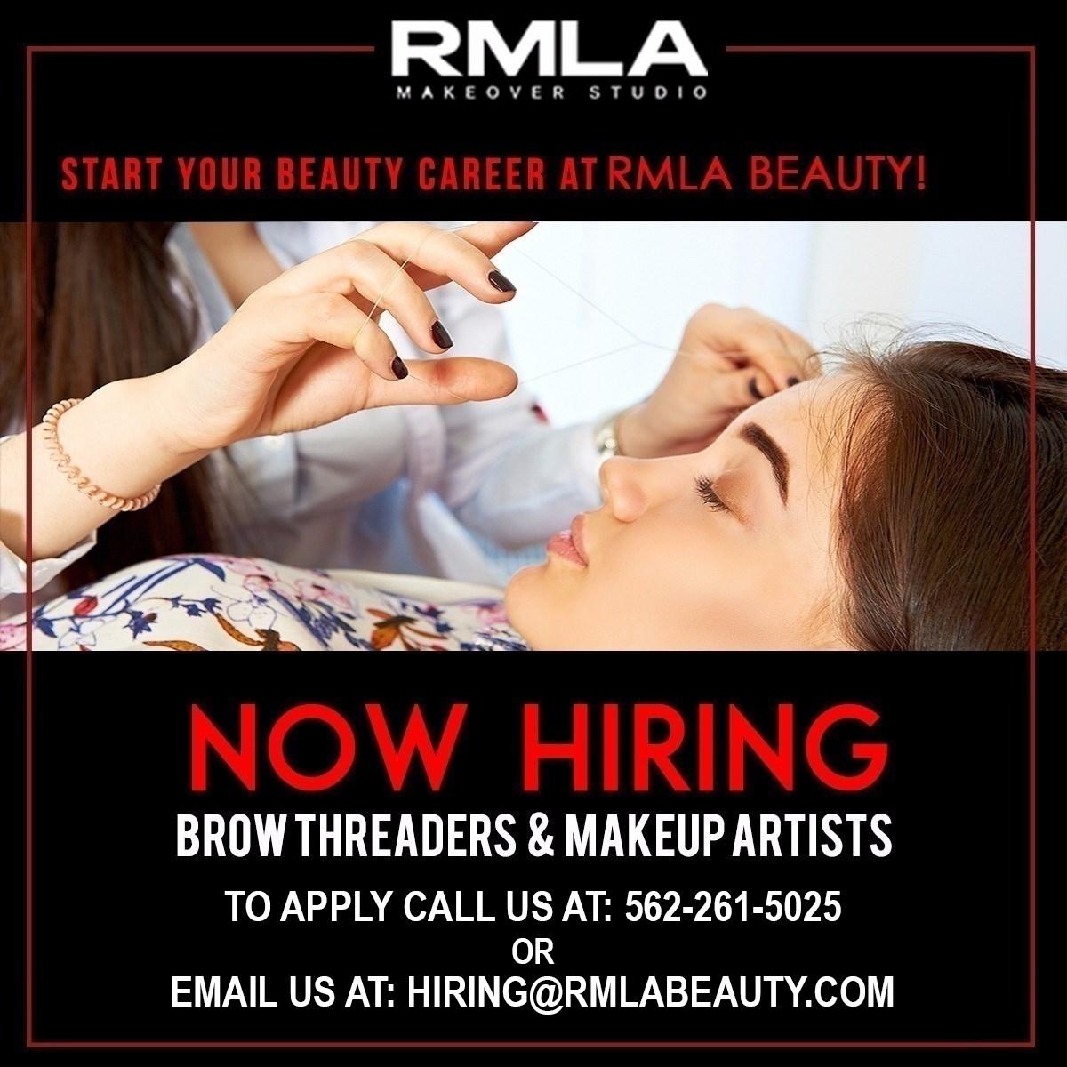 Eyebrow Threader Specialist Job In Beachwood Oh By Rmla Beauty 1