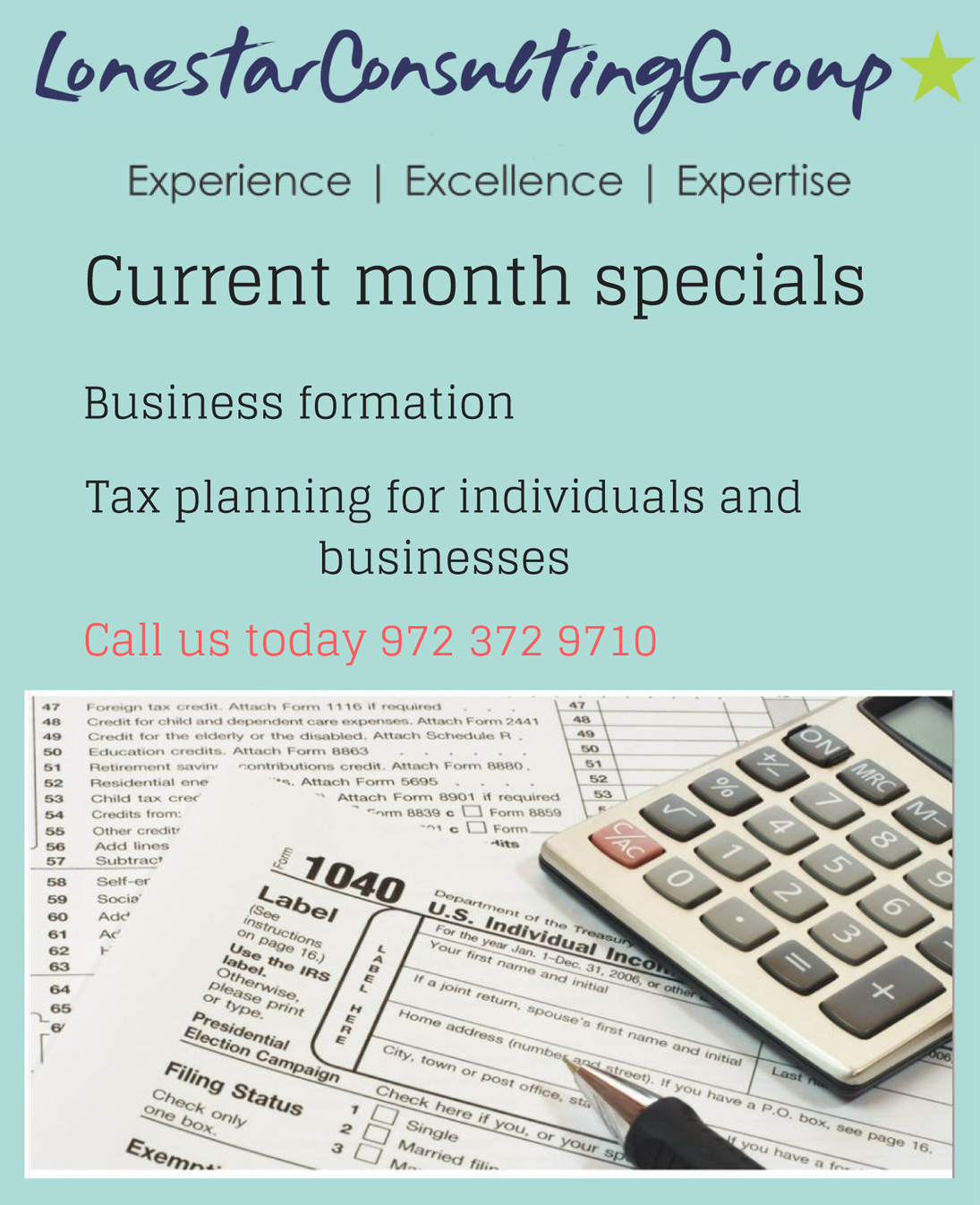 Lonestar Consulting Group - Tax Company Formation & Payroll Business ...