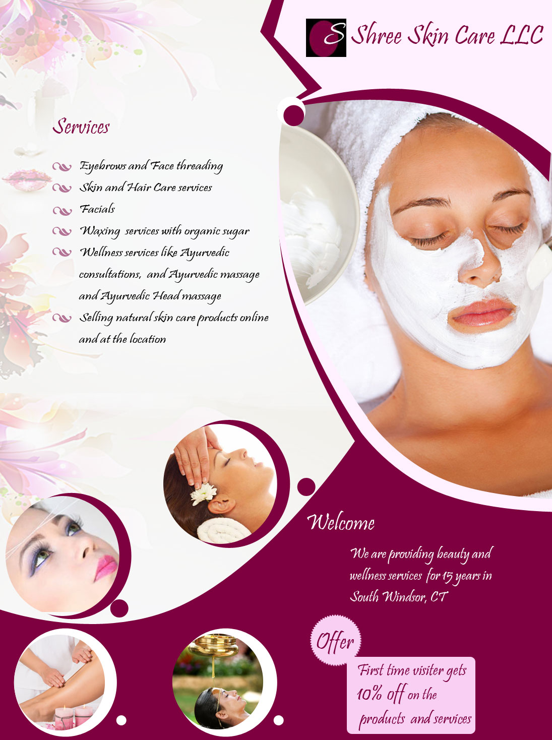 Shree Skin Care Llc Beauty Salon South Windsor Ct Sulekha