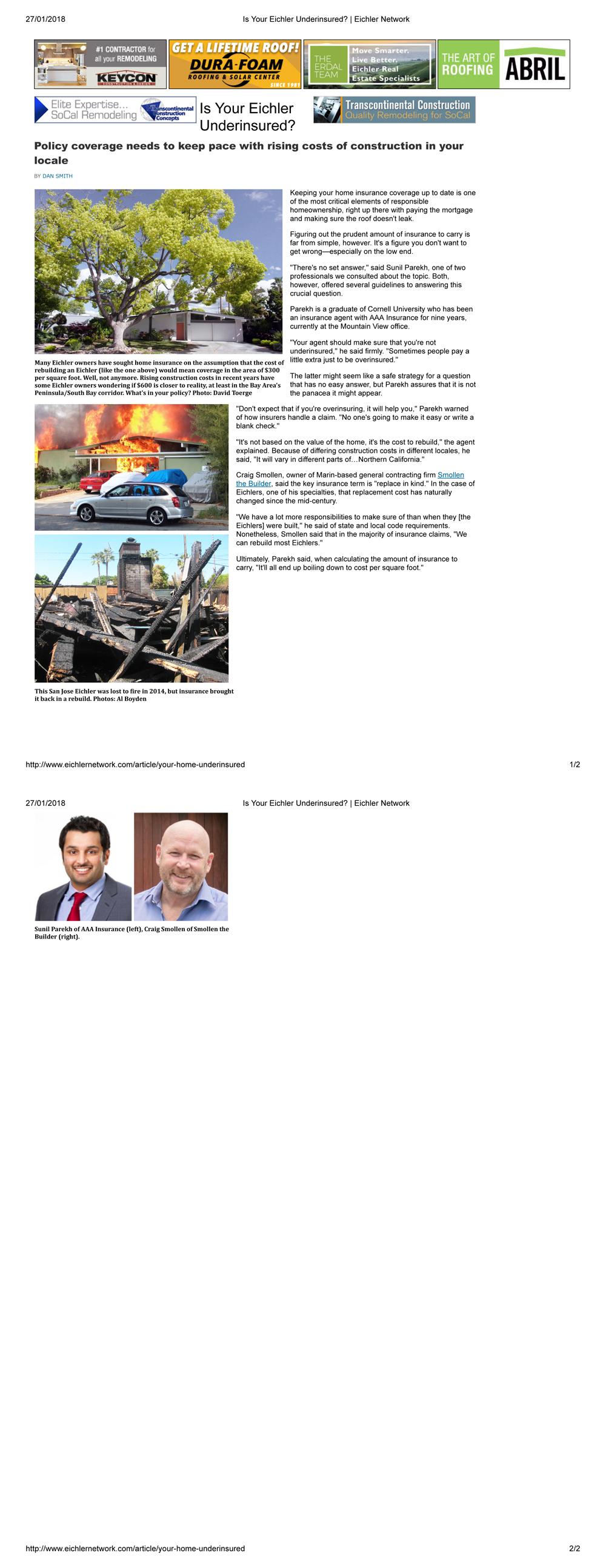 Sunil Parekh AAA Insurance Agent - Insurance Service in Mountain ...
