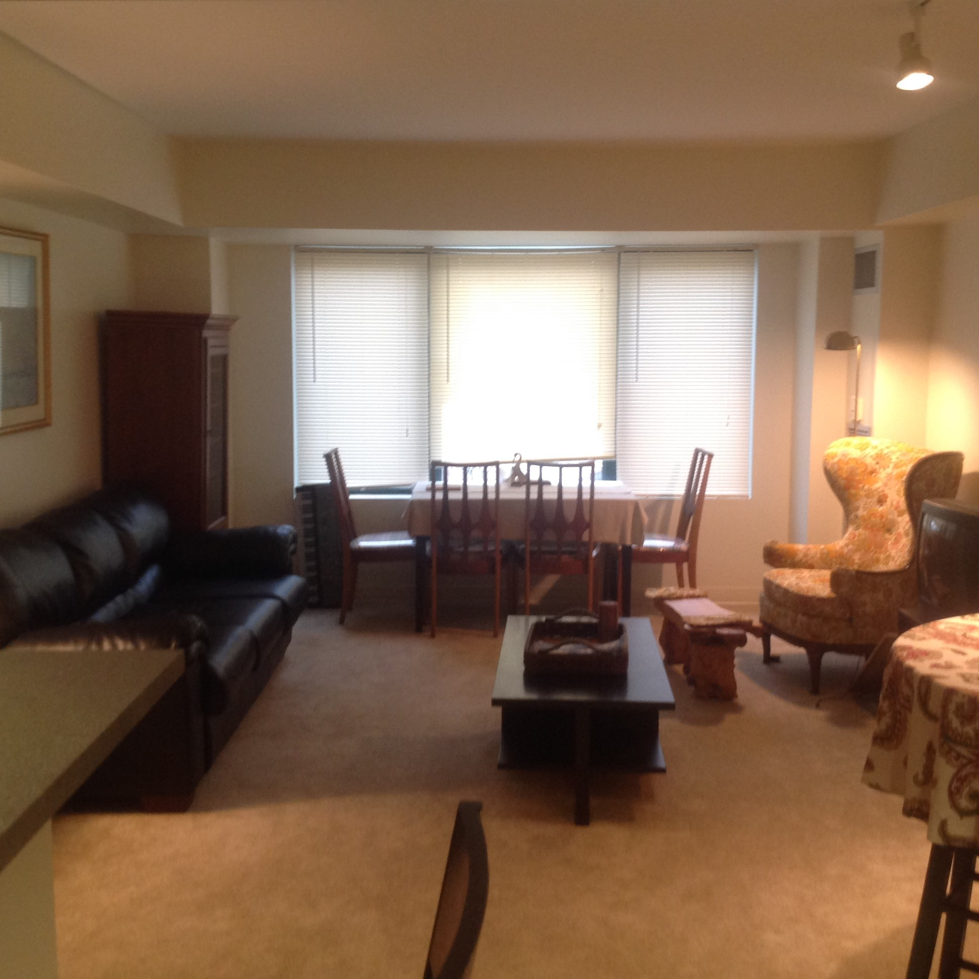 Nice Spacious Master Bedroom With Attached Study And Bath
