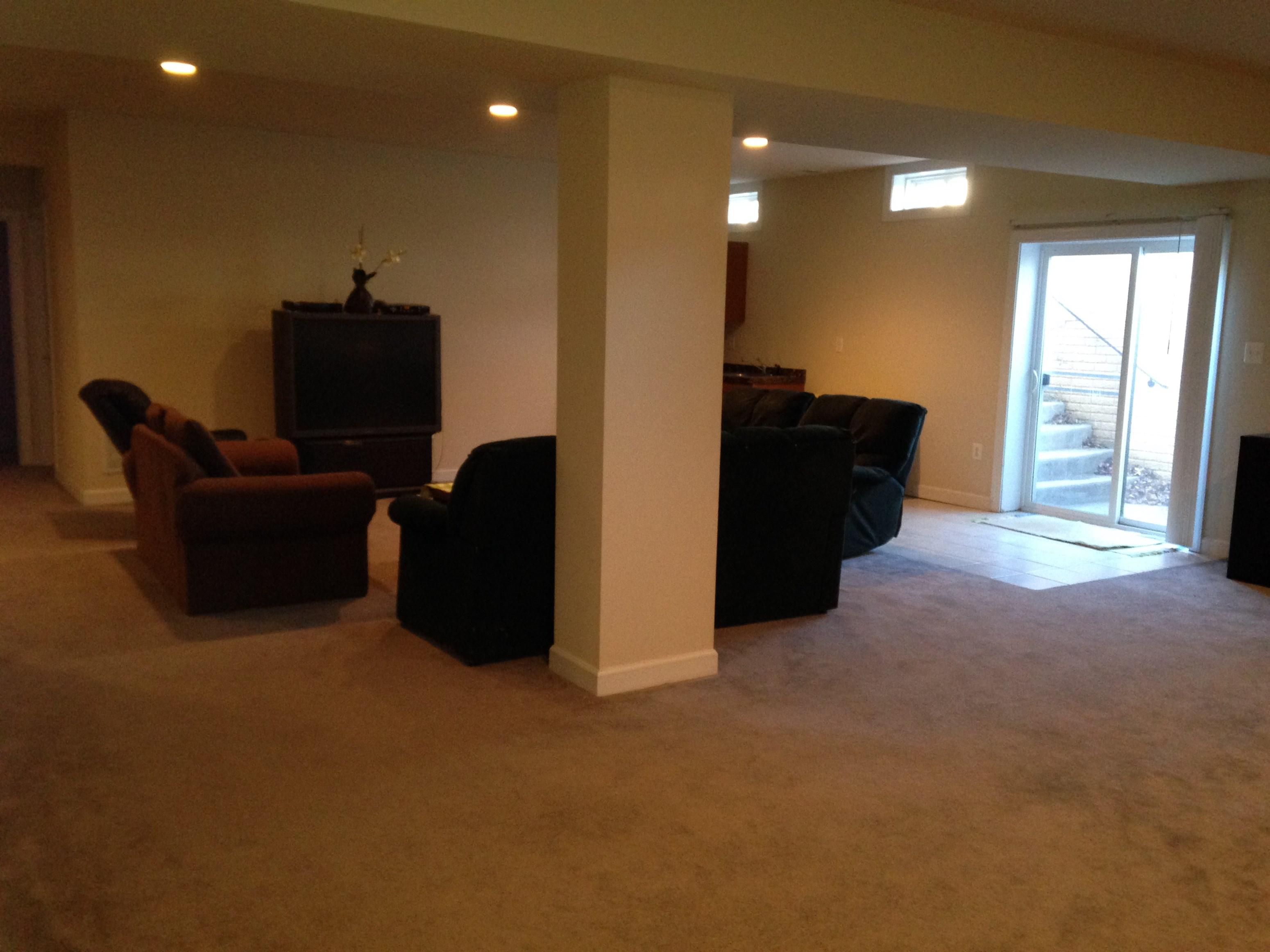 large basement apartment for rent 2 bhk basement