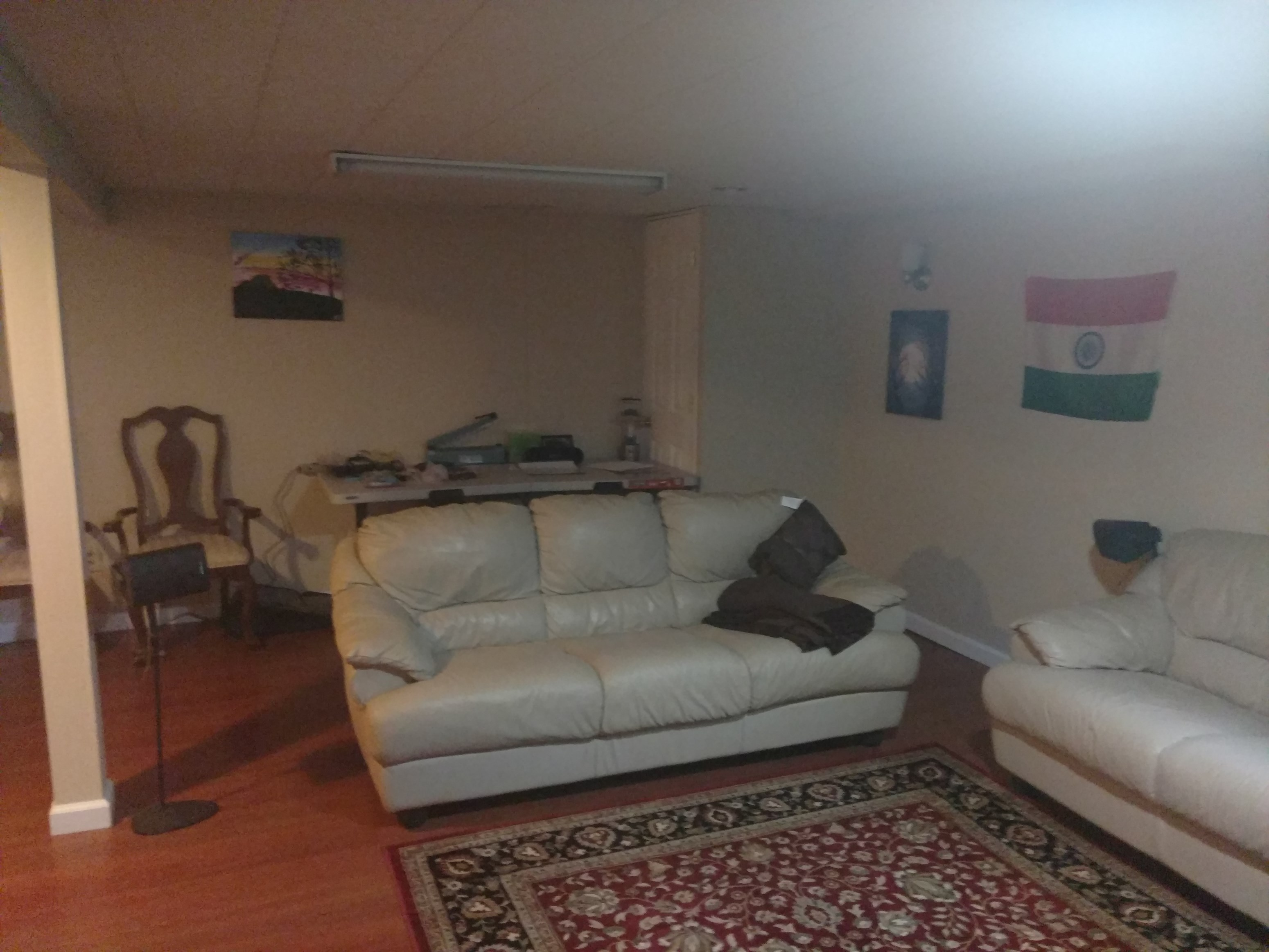 veggie tenant needed for private room in fully furnished basement apt 800 incl util - Basement Apartments