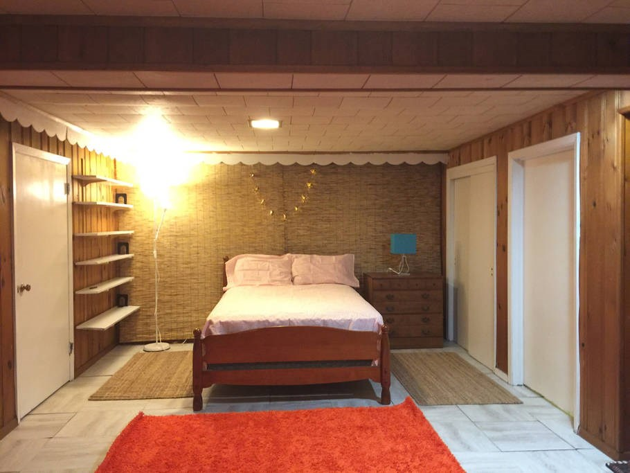 Fully Furnished Cozy Spacious Basement Studio For Singles Sharing Basis 1