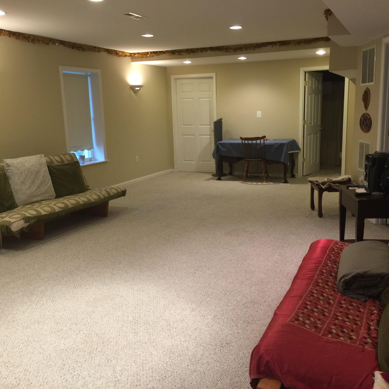 semi furnished basement apartment private entrance separate alarm