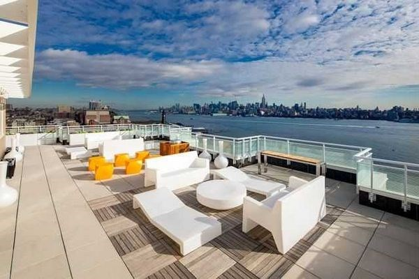 Riverfront Luxury Apartment W  City Views Right Between Hoboken And Jersey  City  next To. Riverfront Luxury Apartment W  City Views Right Between Hoboken