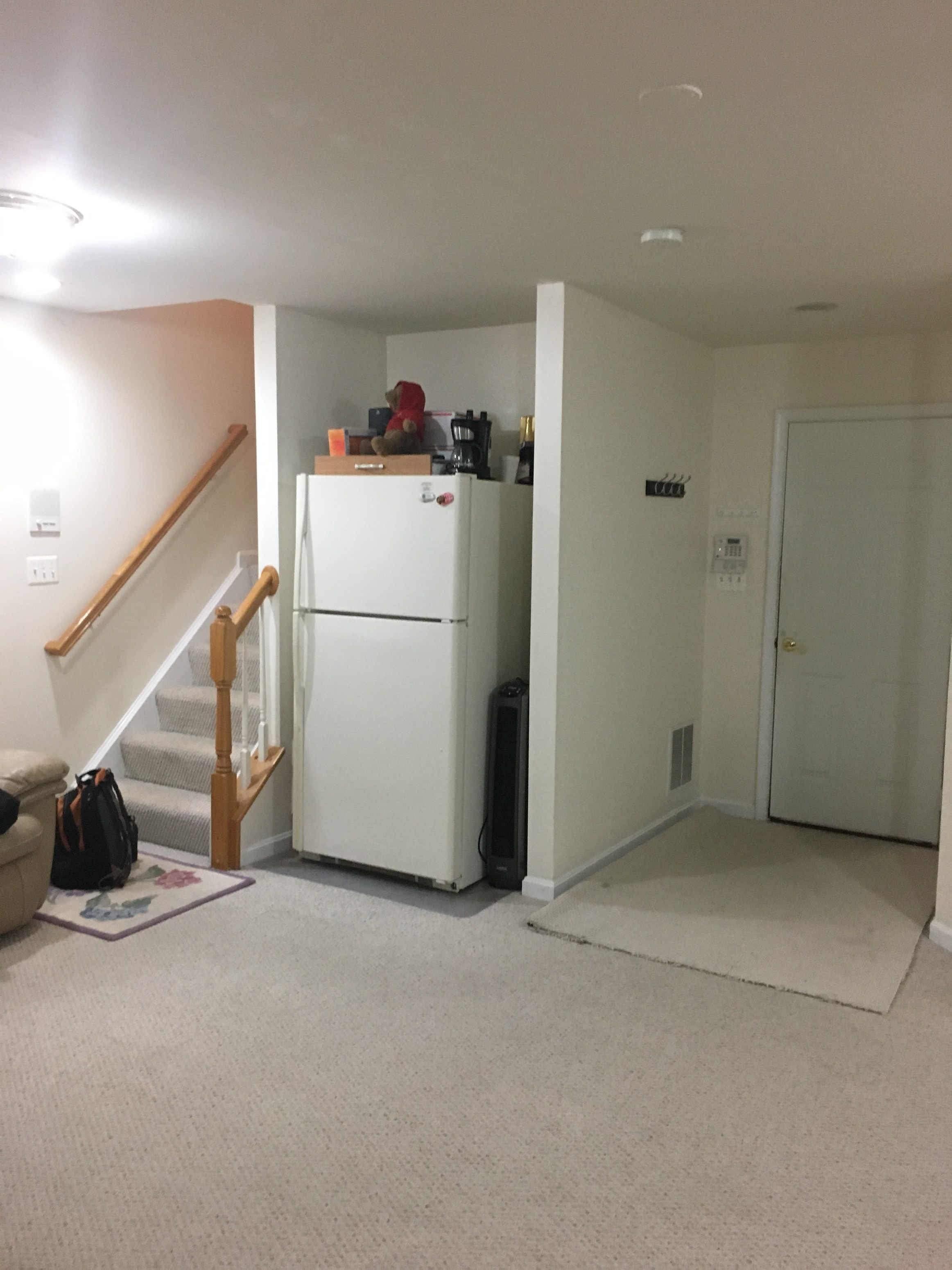 Fully Furnished Townhouse Basement For Rent For Singles Only 1