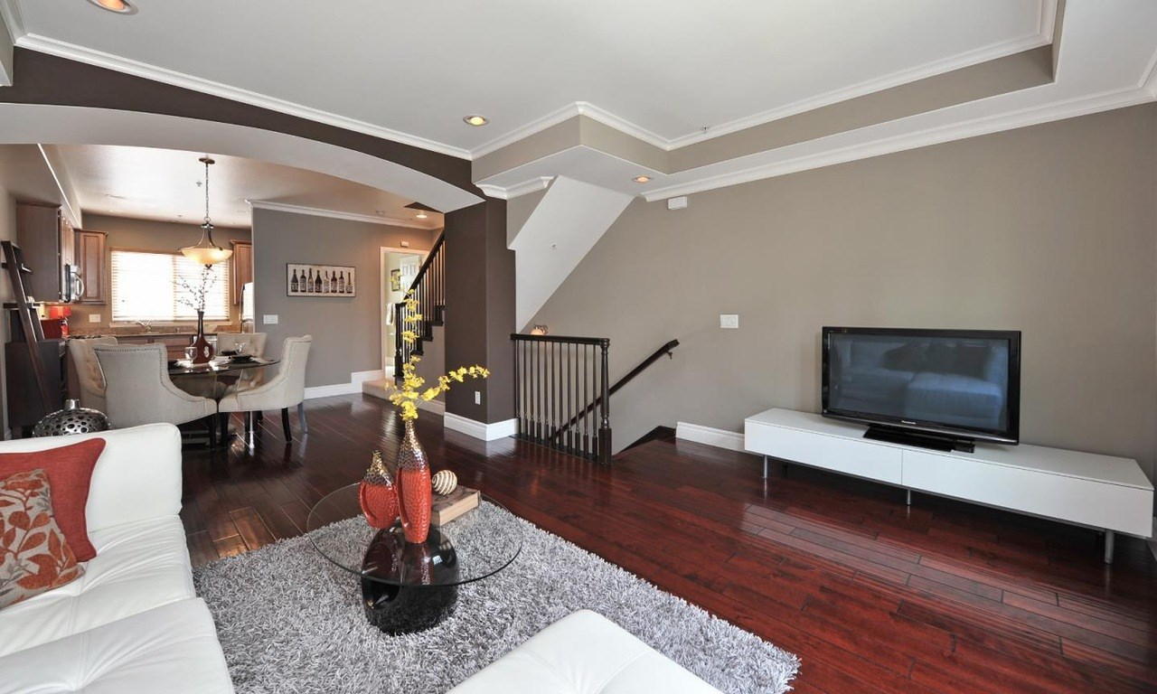 Luxury 3 Level Townhouse Willow Glen. 3 Bedroom House for Rent in San Jose  CA   Three Bedroom Homes for