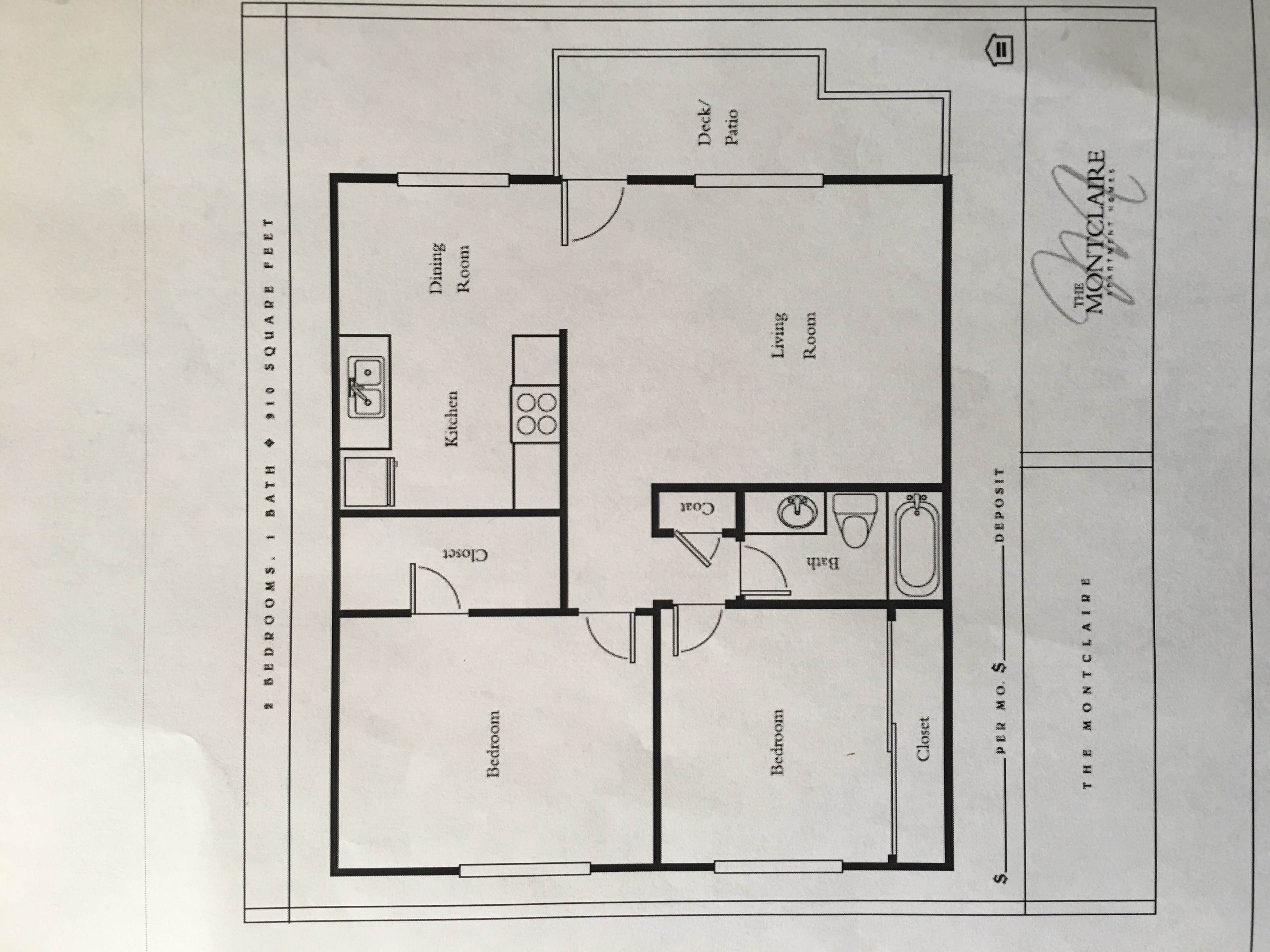 $2633 2br 950ft2 apartment for rent close to downtown