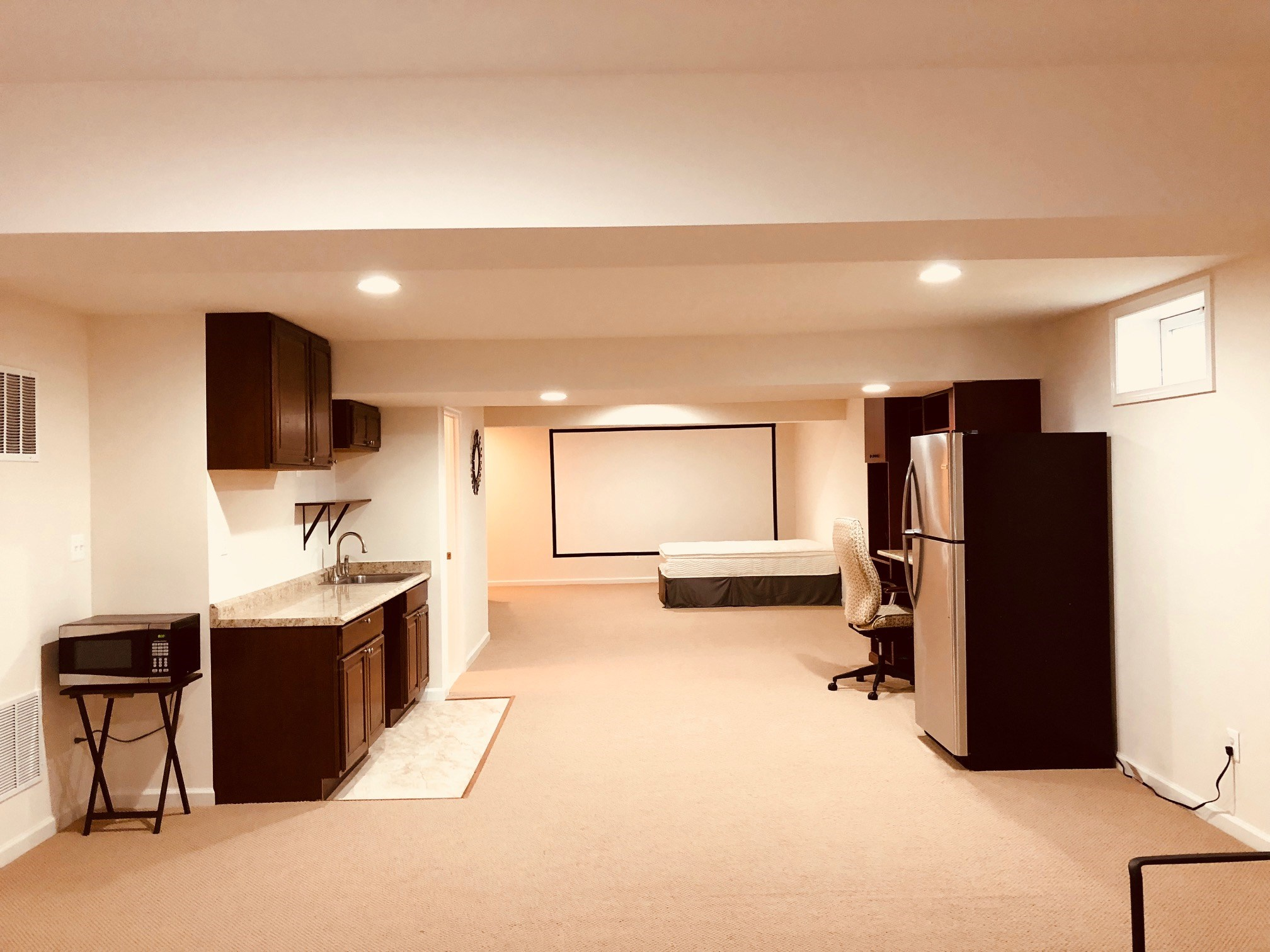 Studio Style Basement Apartment ** Separate Entrance ** Utilities Included  **