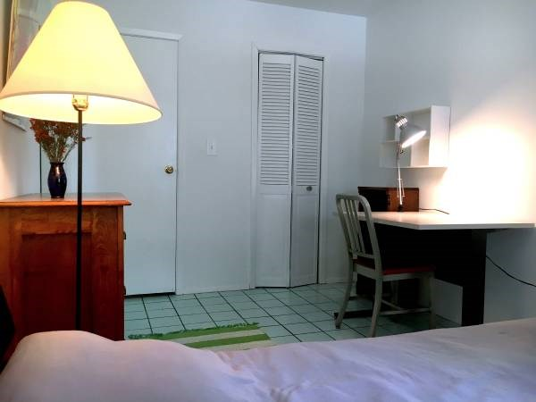 Large furnished bedroom in clean well decorated apartment for Well decorated bedroom
