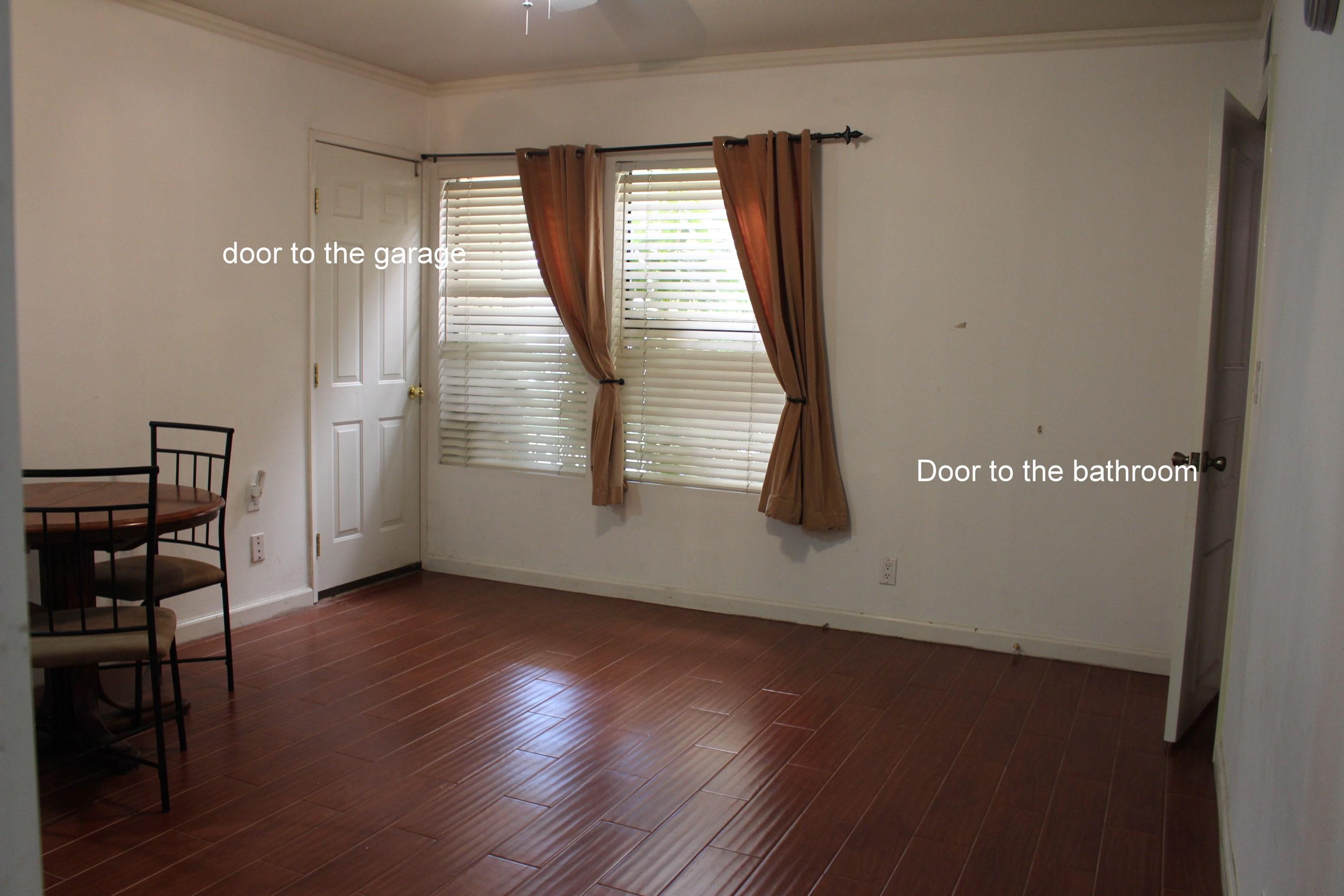 furnished single bedroom separate entrance private kitchen
