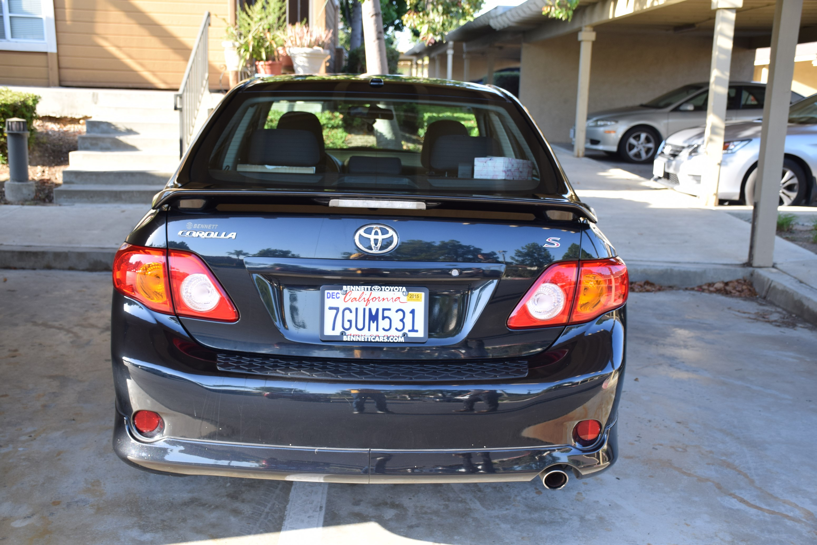 For Sale: Used Toyota Corolla 2009 S (2nd Owner, Clean Title ...