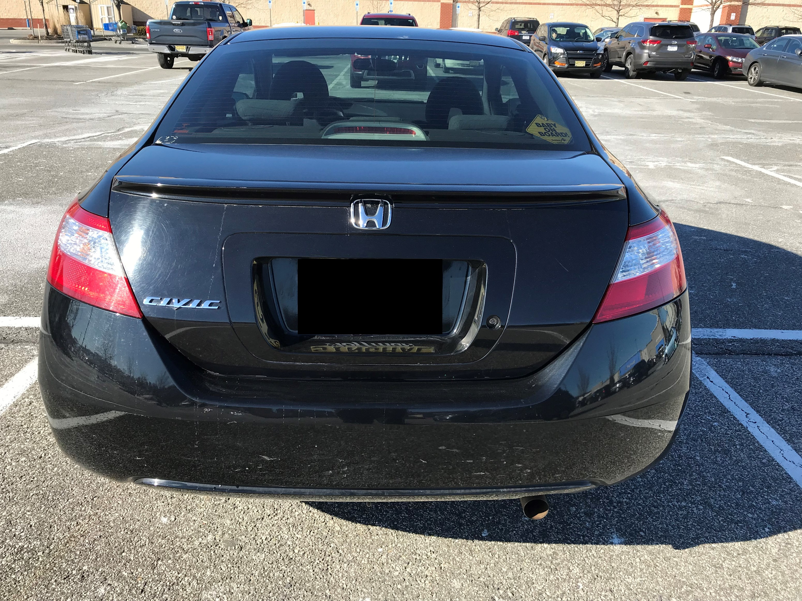 2007 honda civic lx manual coupe