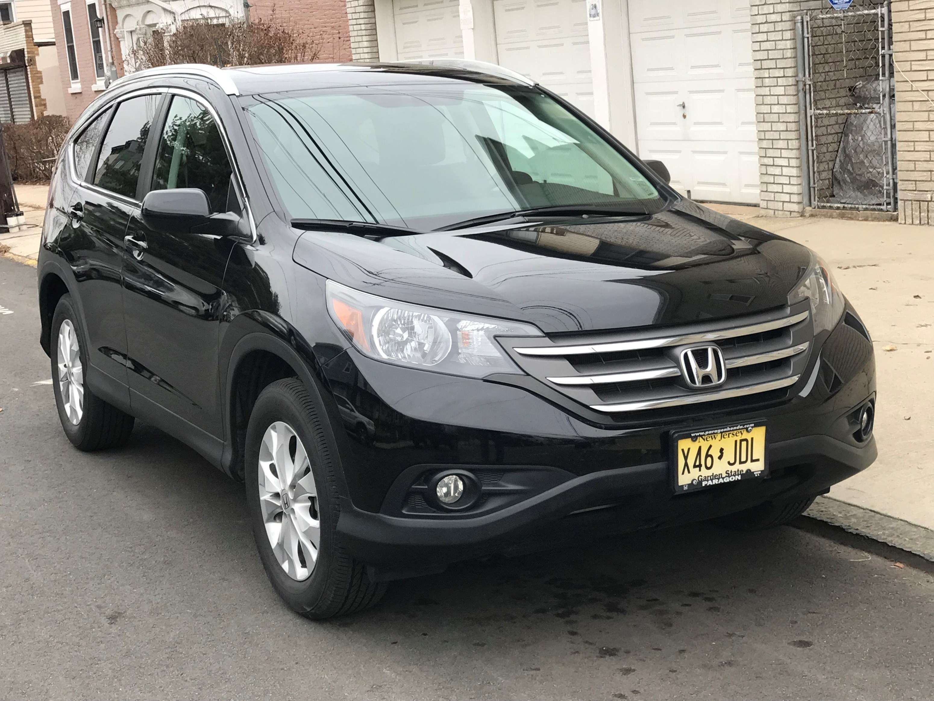 Awesome Deal2014 Black HONDA CRV EX L With Navigation Heated Leather Seats Sunroof No Accident History 266K Miles