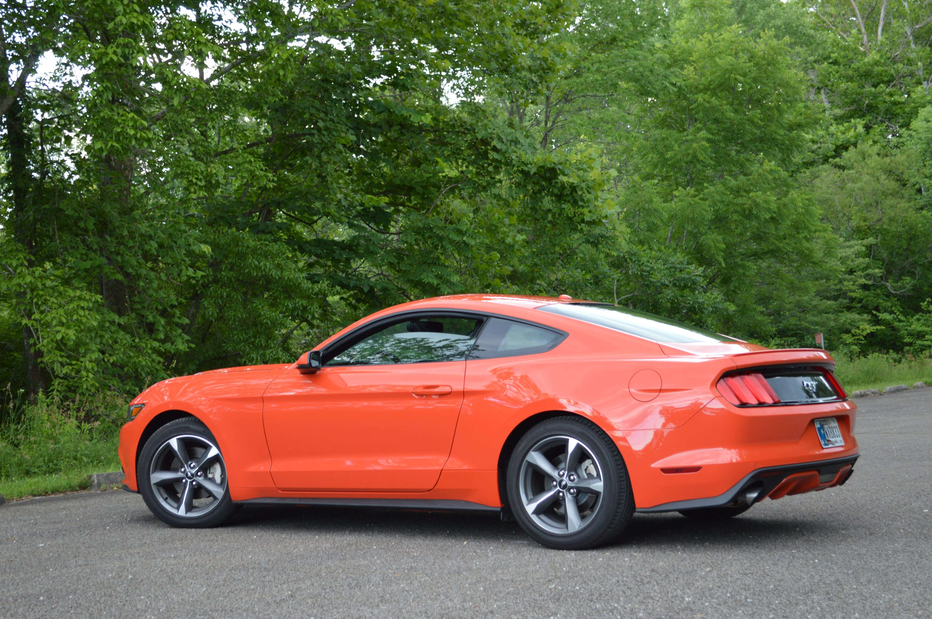 2015 Ford Mustang Ecoboost Premium -Orange Color/ Used Ford Mustang ...