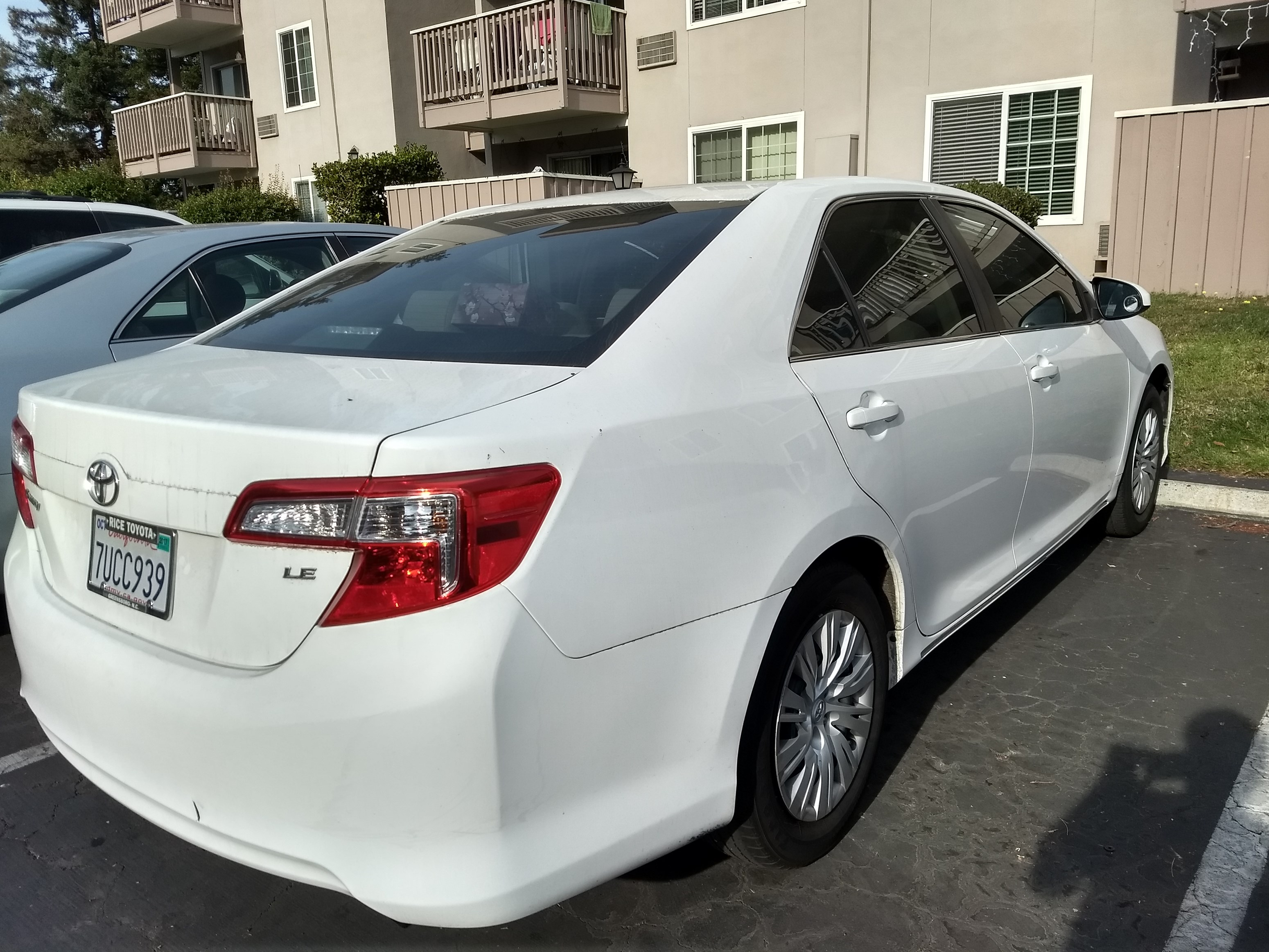 2012 Toyota Camry With Low Miles / Clear Title / Immediate Sale ...