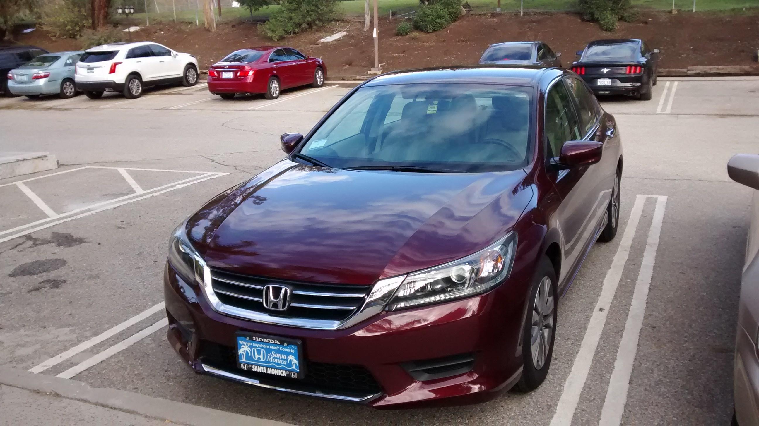2014 Honda Accord 4D Sedan