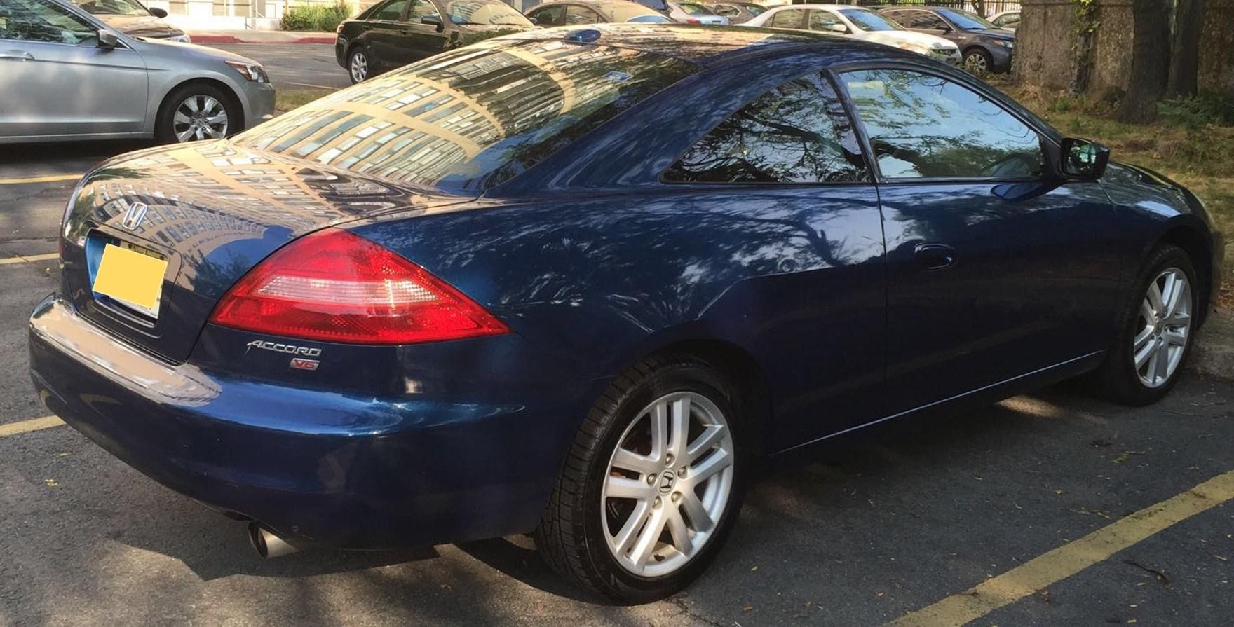 "2005 Honda Accord V6 Coupe - $6000 (Jersey City) ""Manual Transmission"""